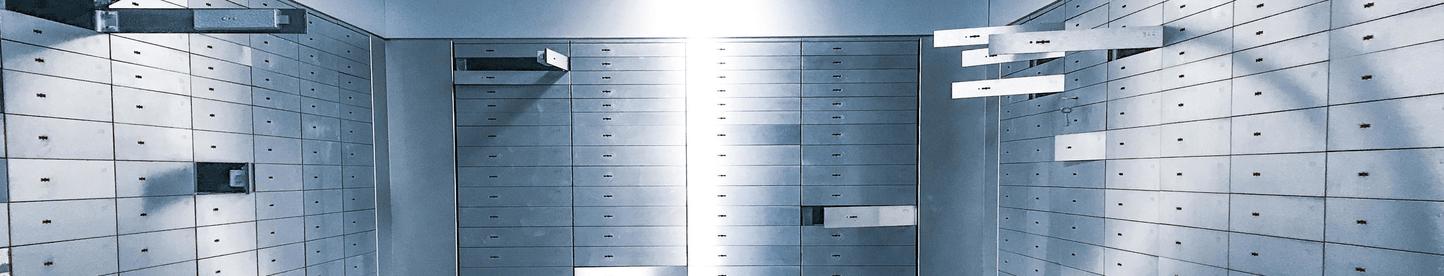 secured bank safe