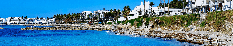 Cypriot town landscape