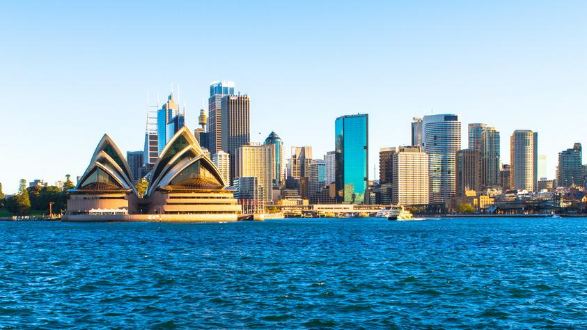 landscape of Sydney, Australia