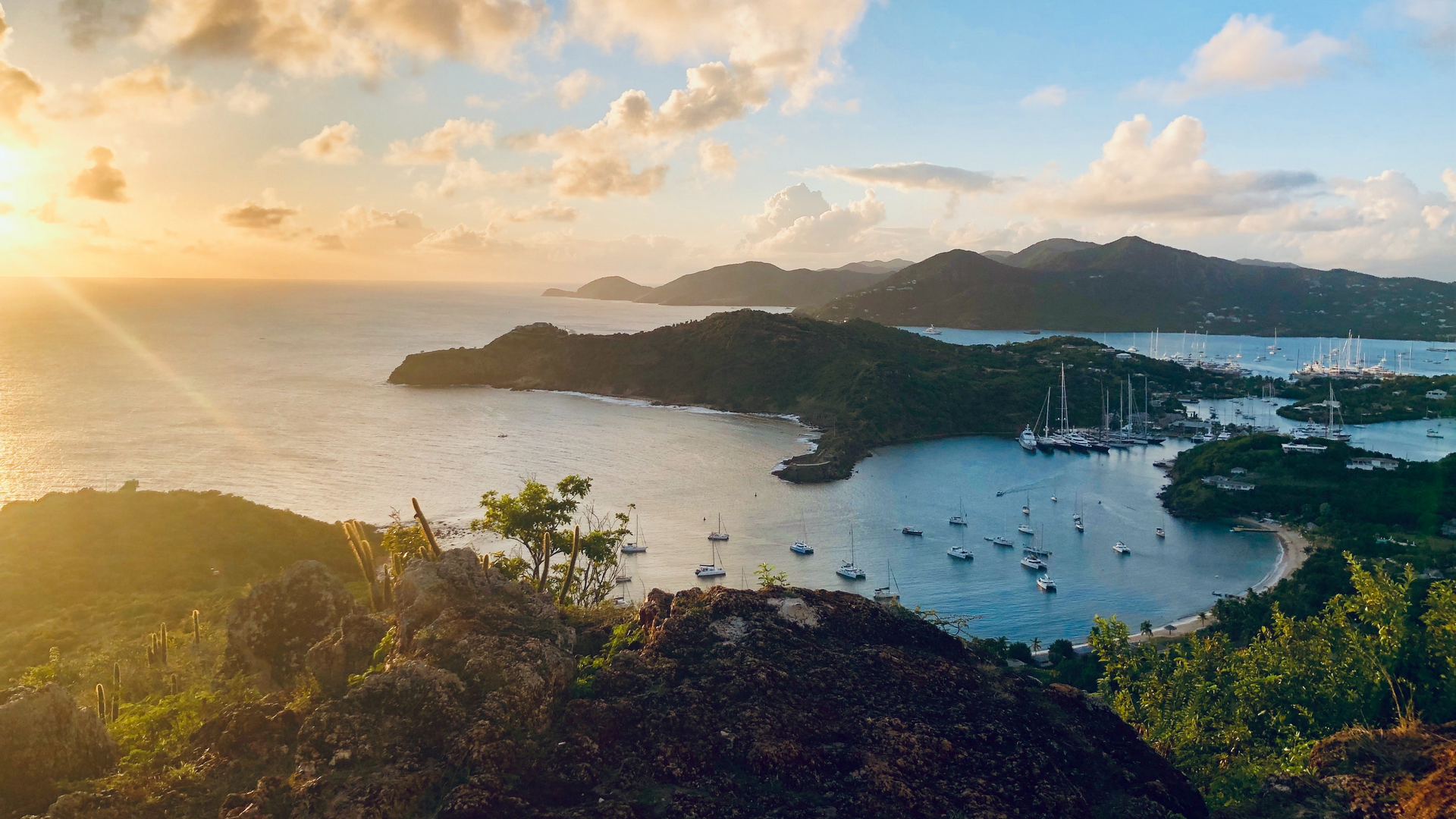 A view in Antigua and Barbuda