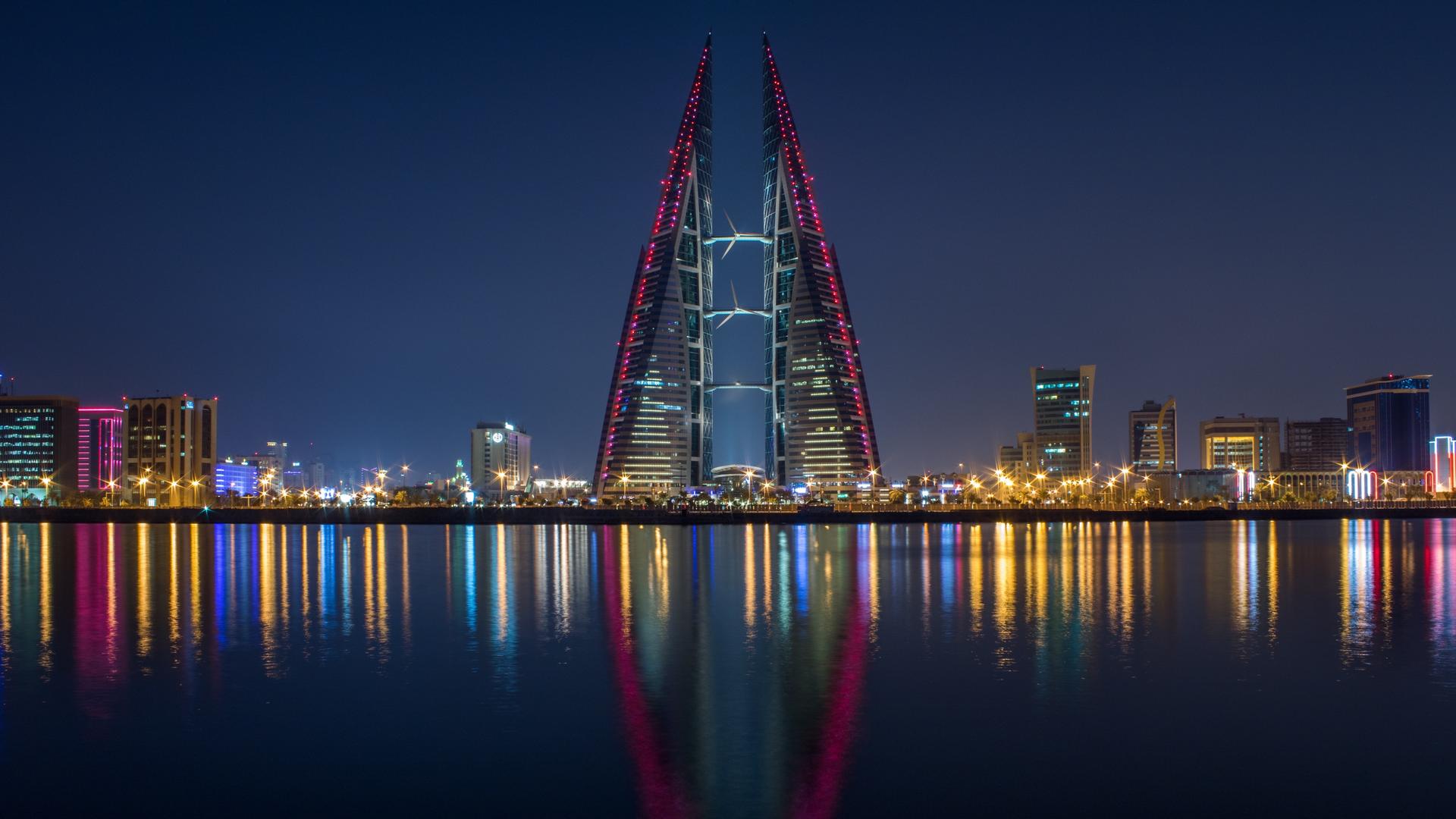 A view in Bahrain
