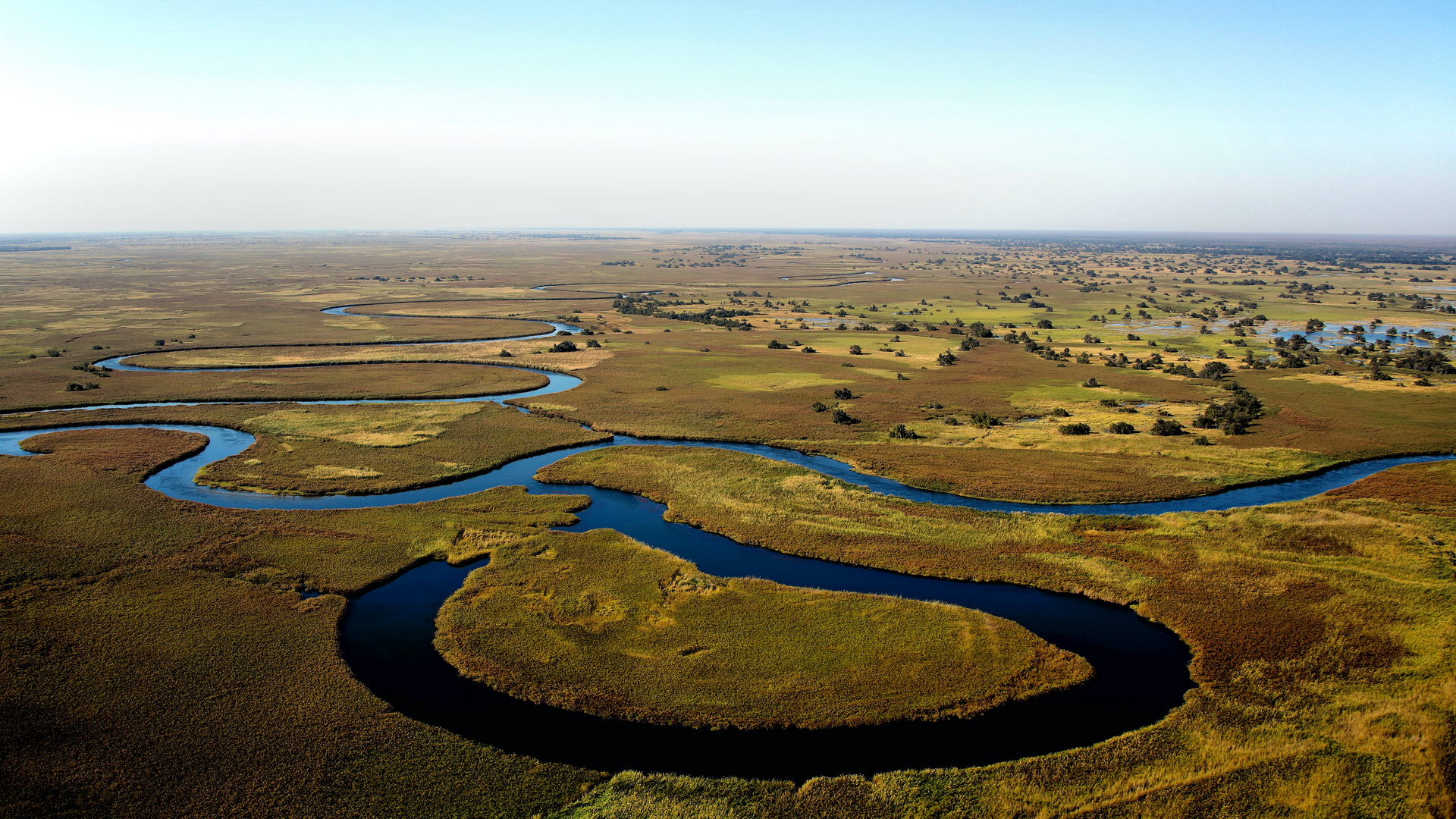 A view in Botswana