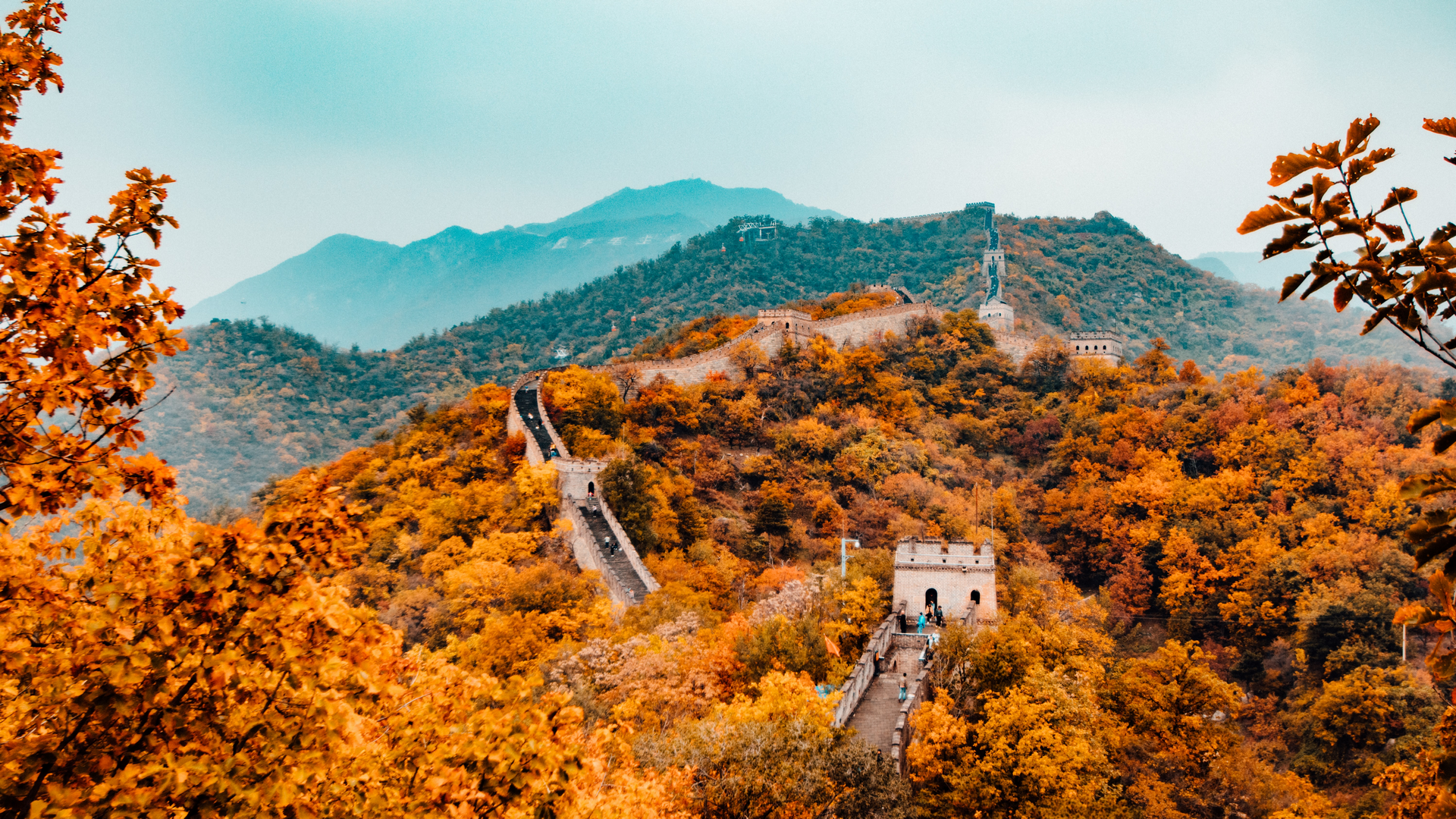 A view in China