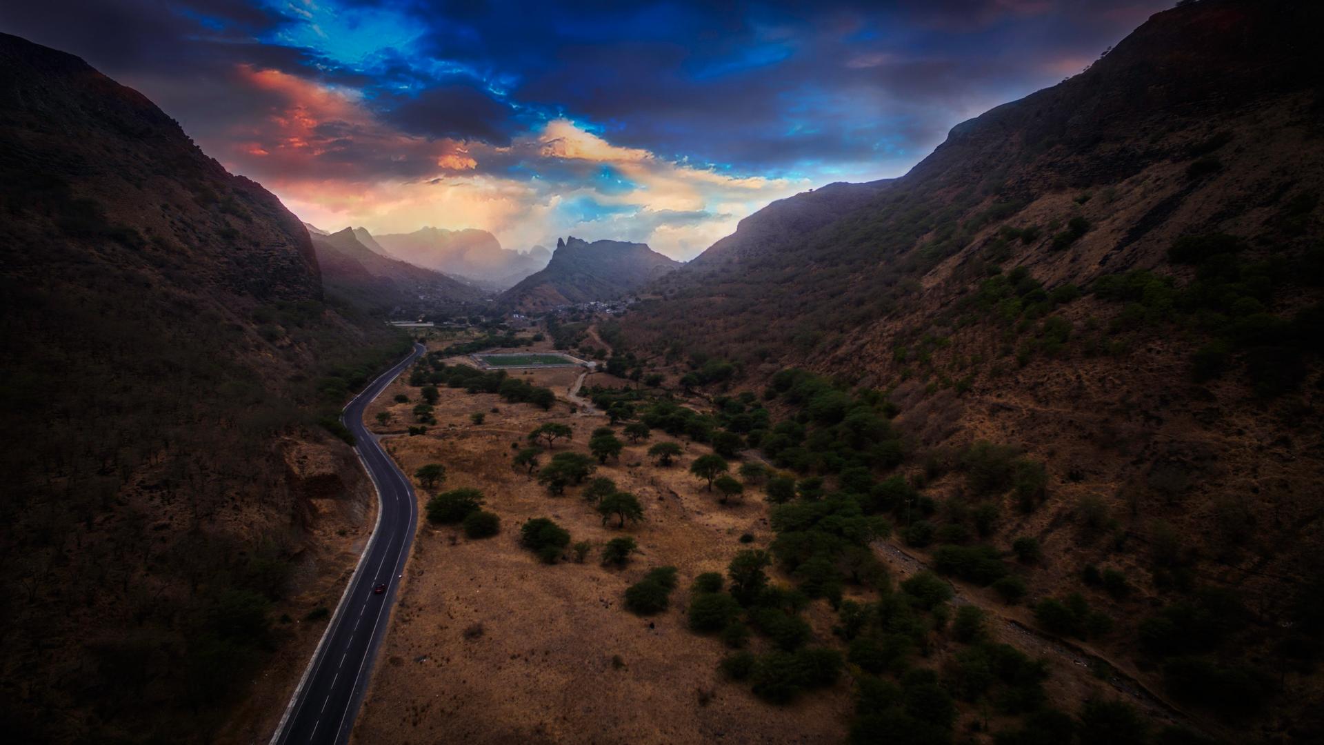 A view in Cape Verde