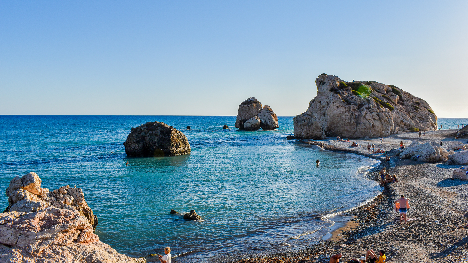 A view in Cyprus