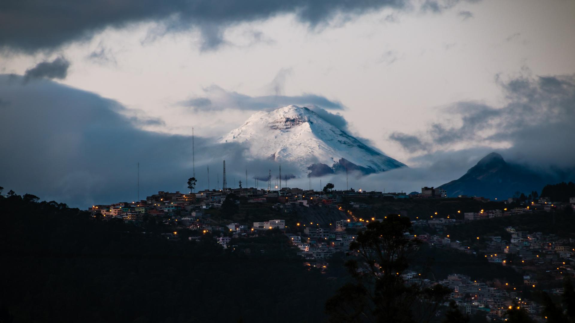 A view in Ecuador