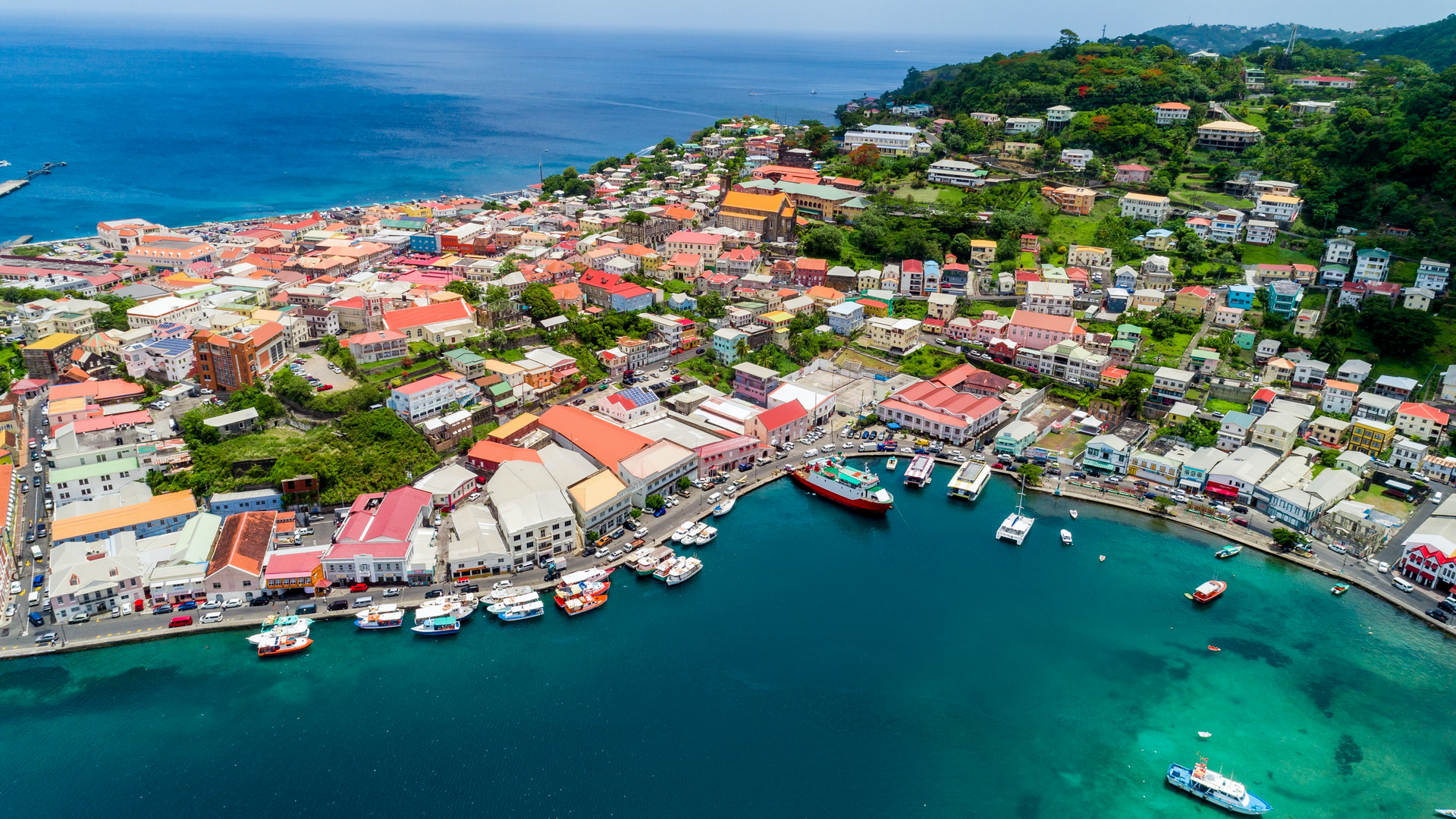 A view in Grenada