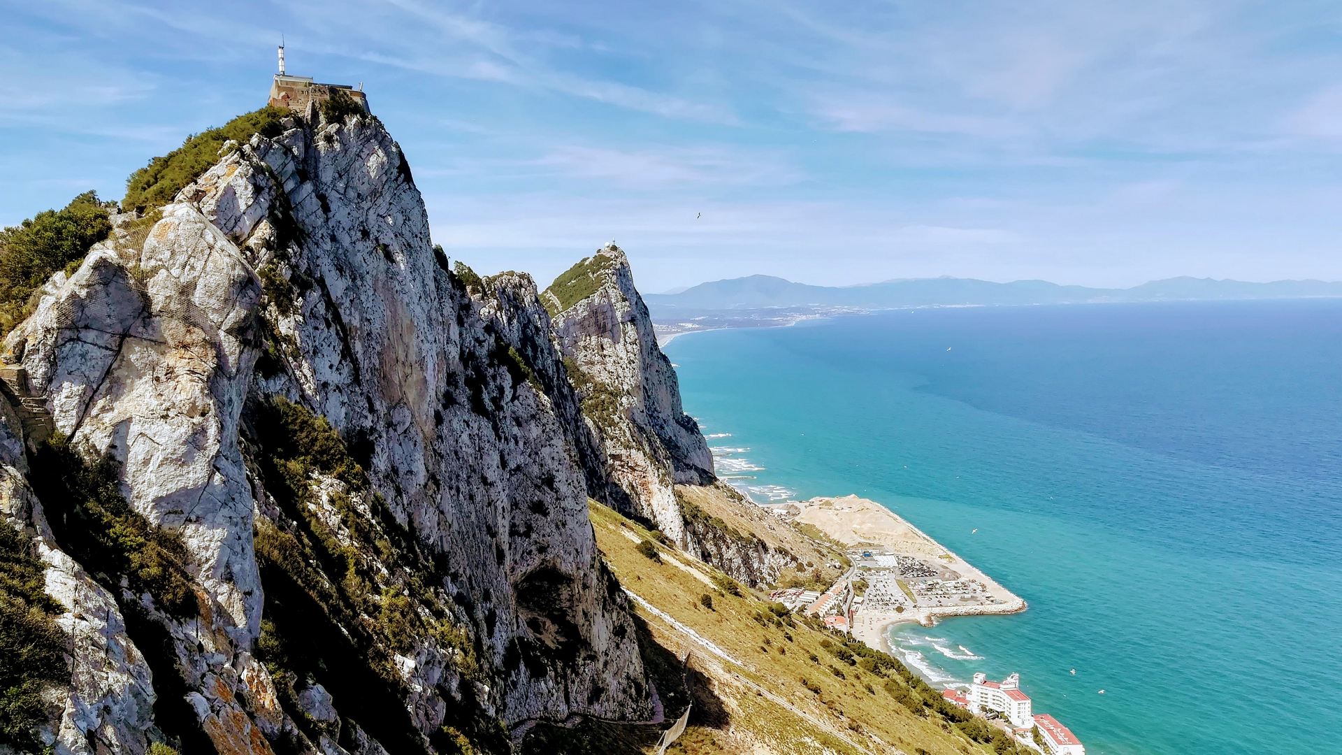 A view in Gibraltar