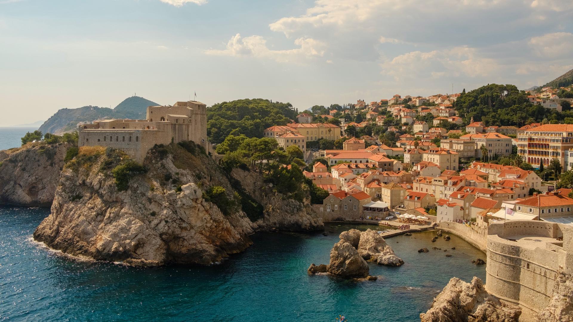 A view in Croatia