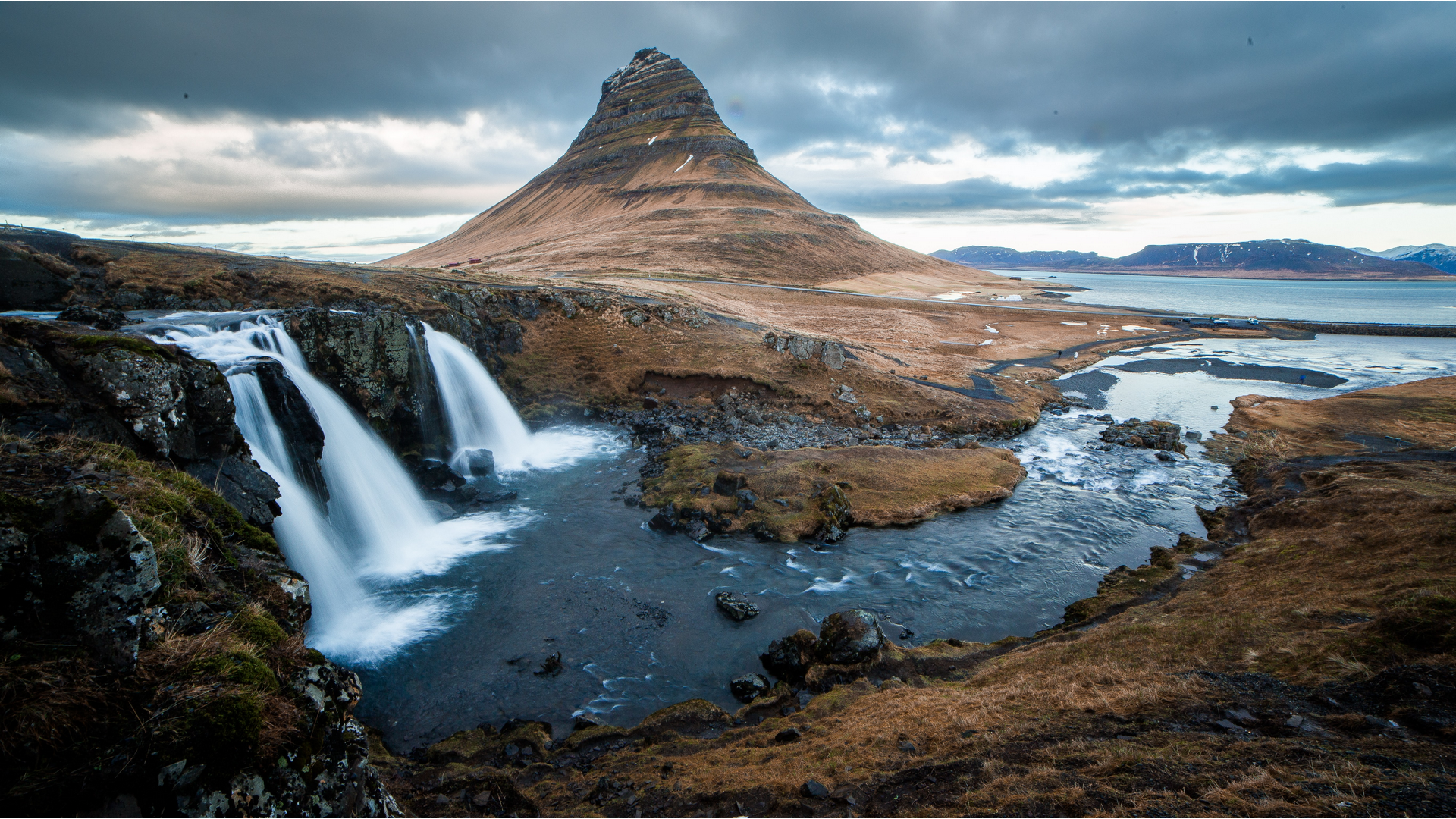 A view in Iceland