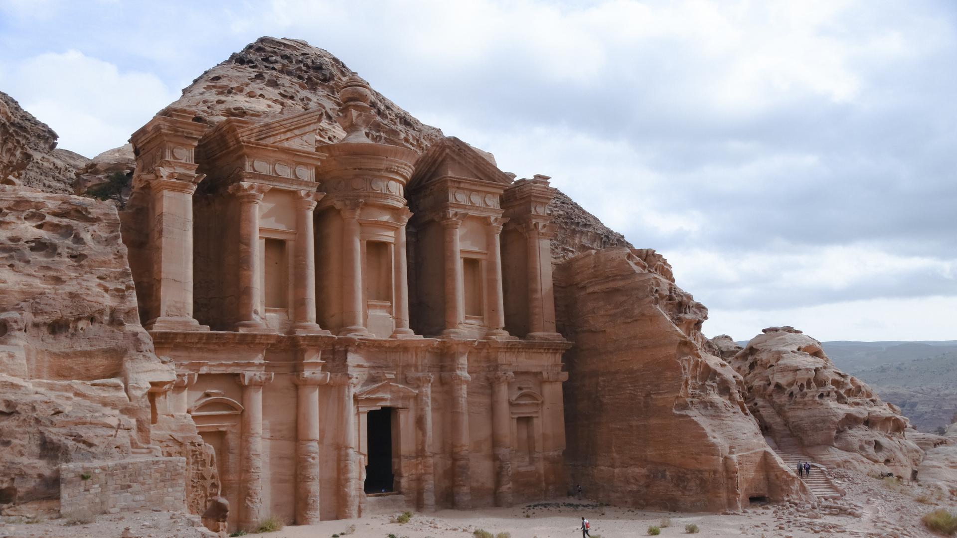 A view in Jordan