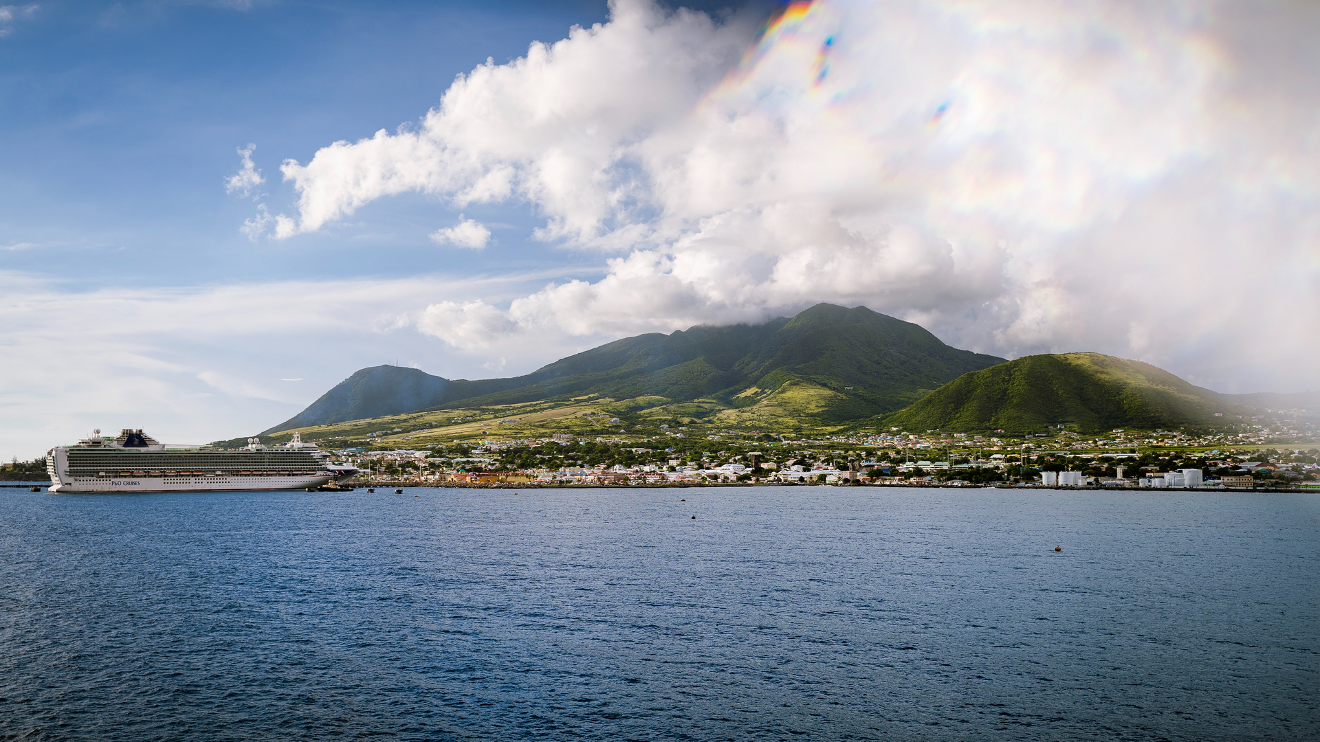 A view in Saint Kitts and Nevis