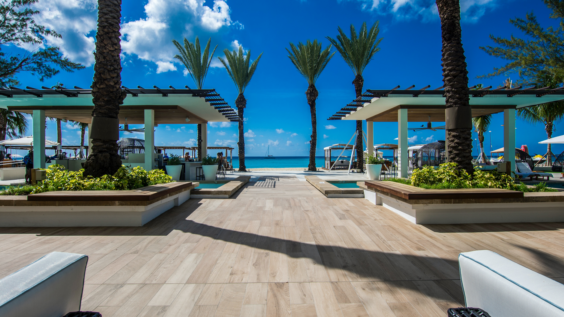 A view in Cayman Islands
