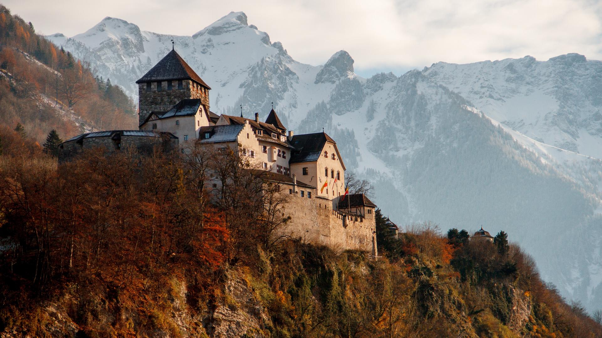 A view in Liechtenstein