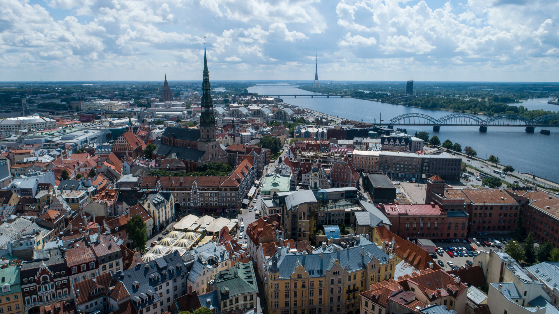 A view in Latvia