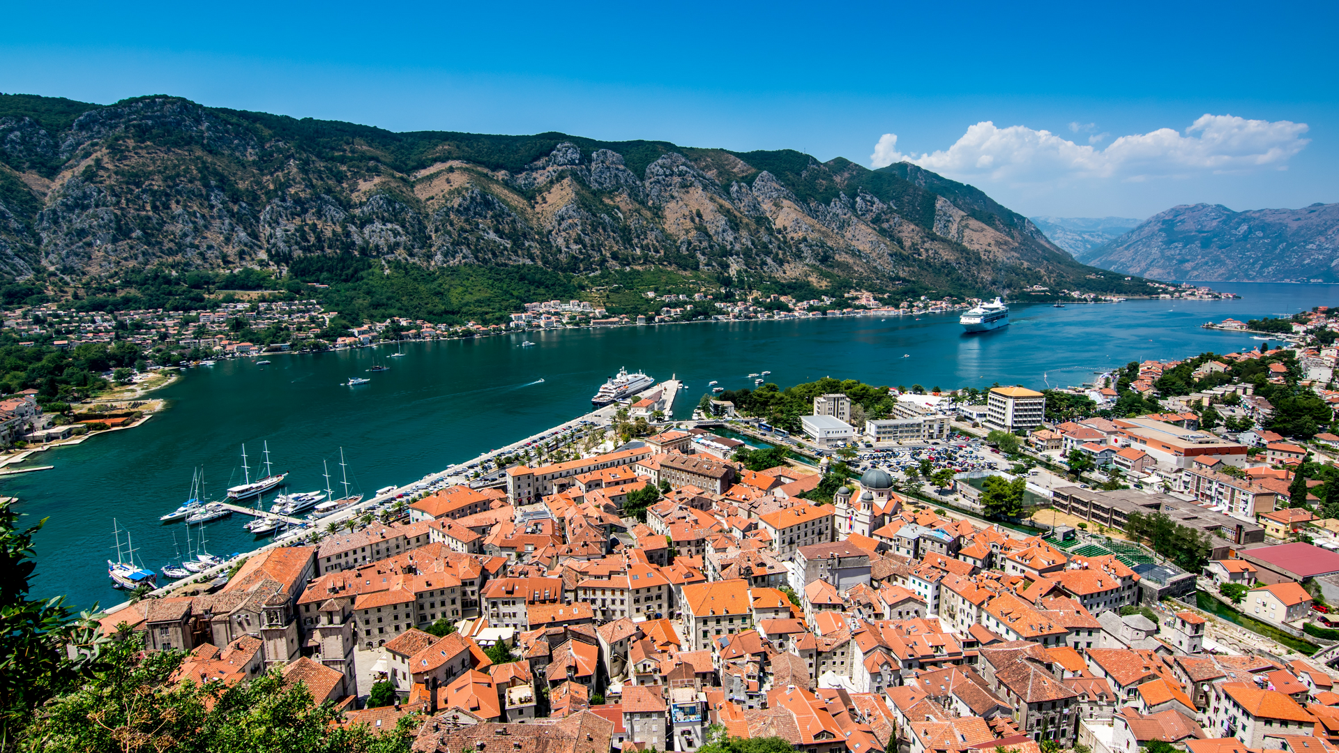 A view in Montenegro