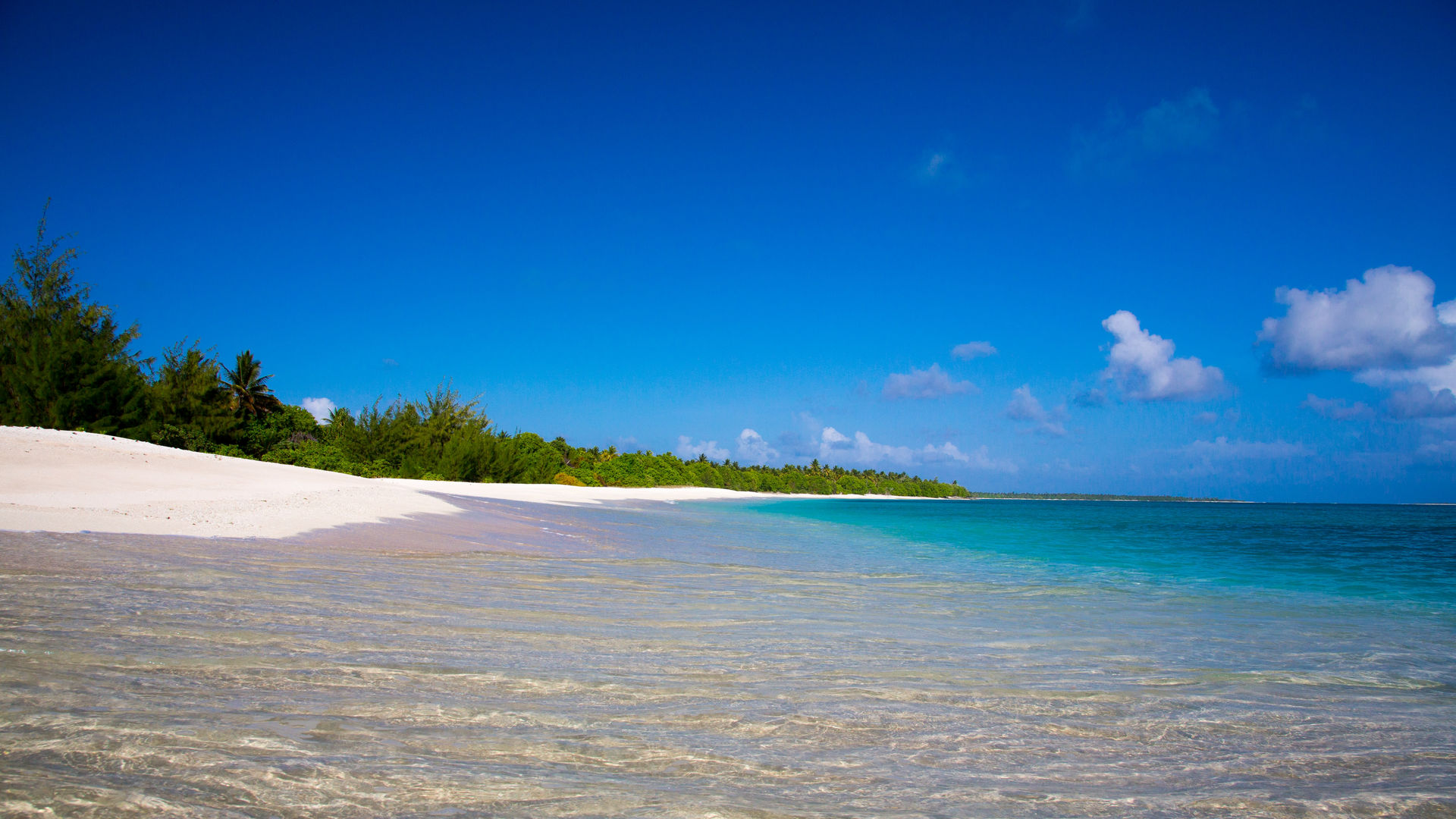A view in Marshall Islands