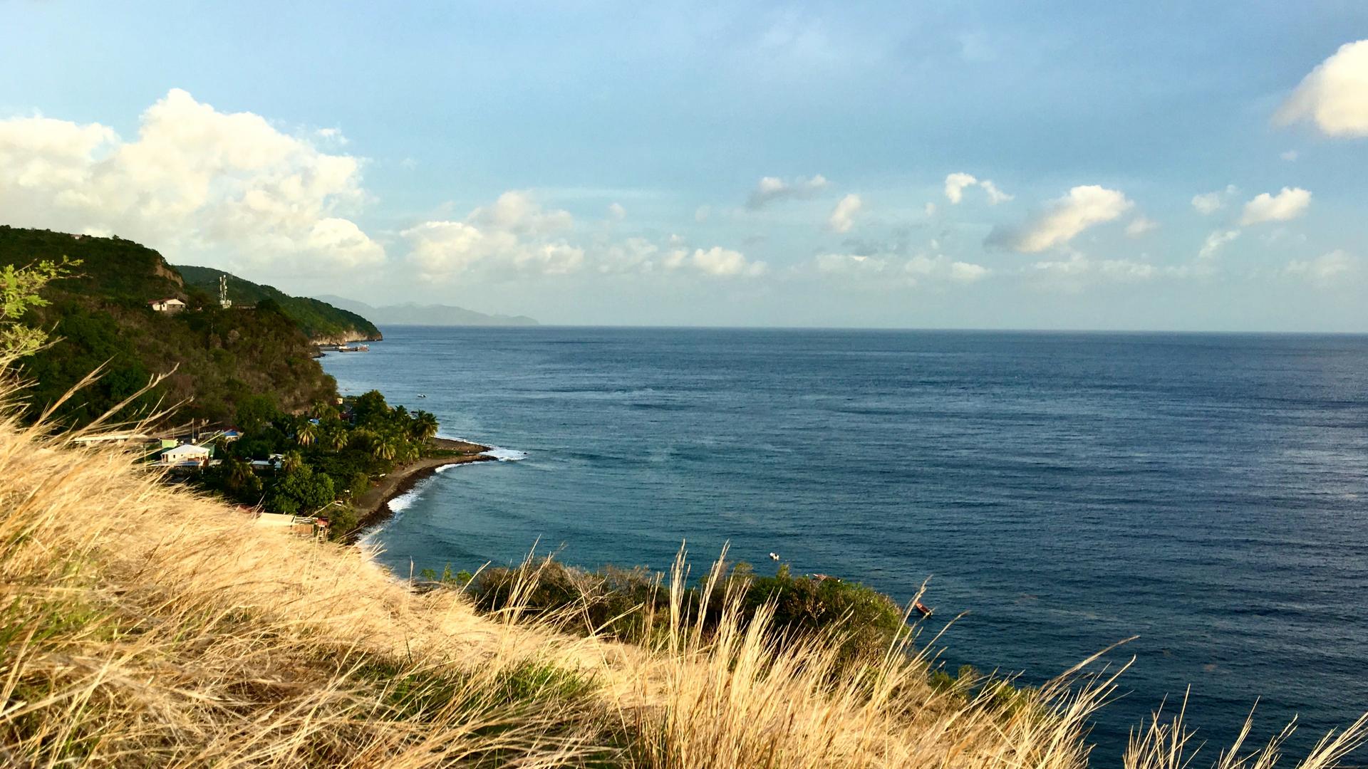 A view in Martinique