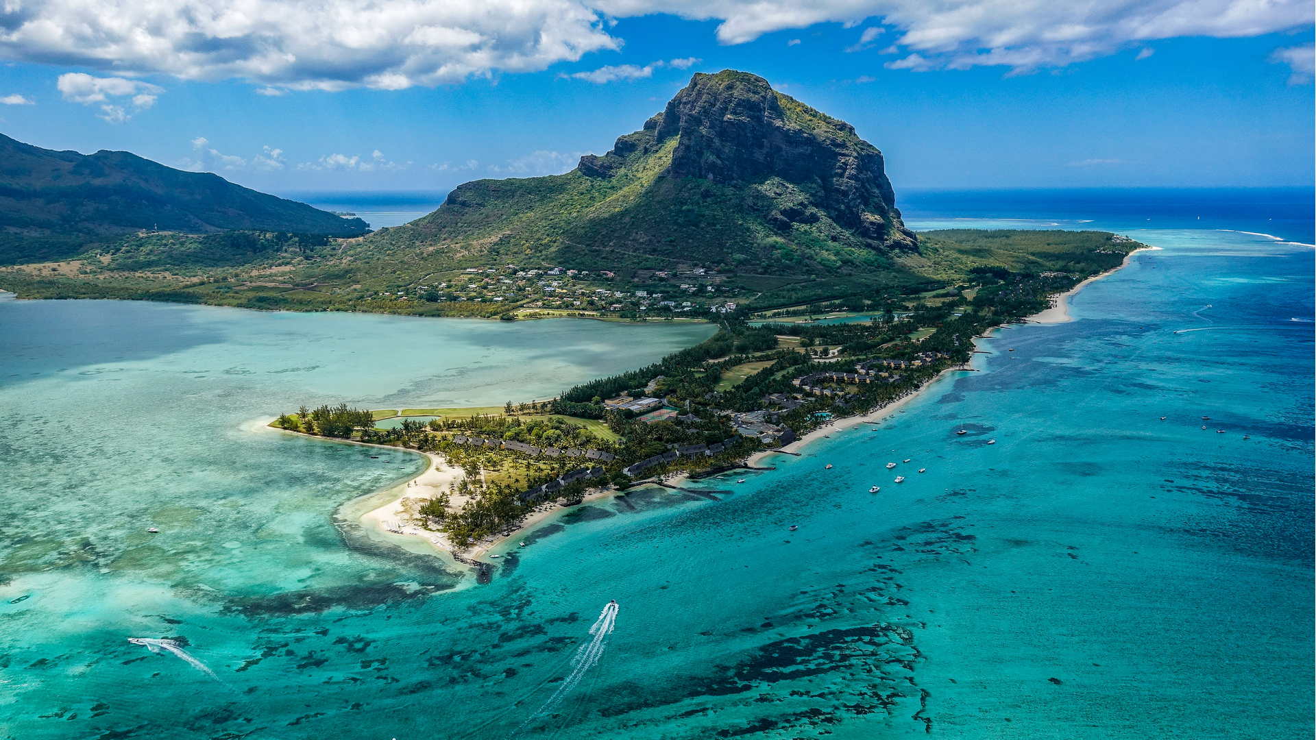 A view in Mauritius