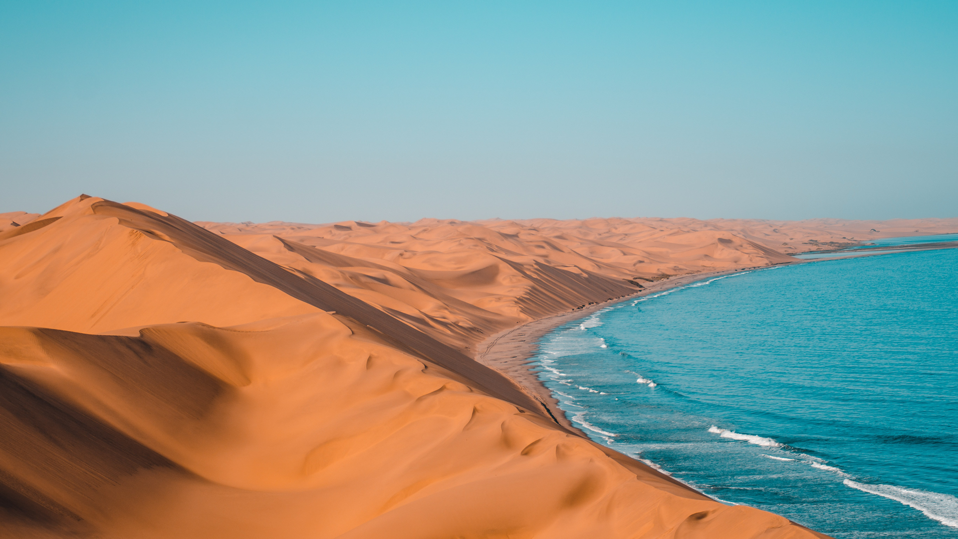A view in Namibia