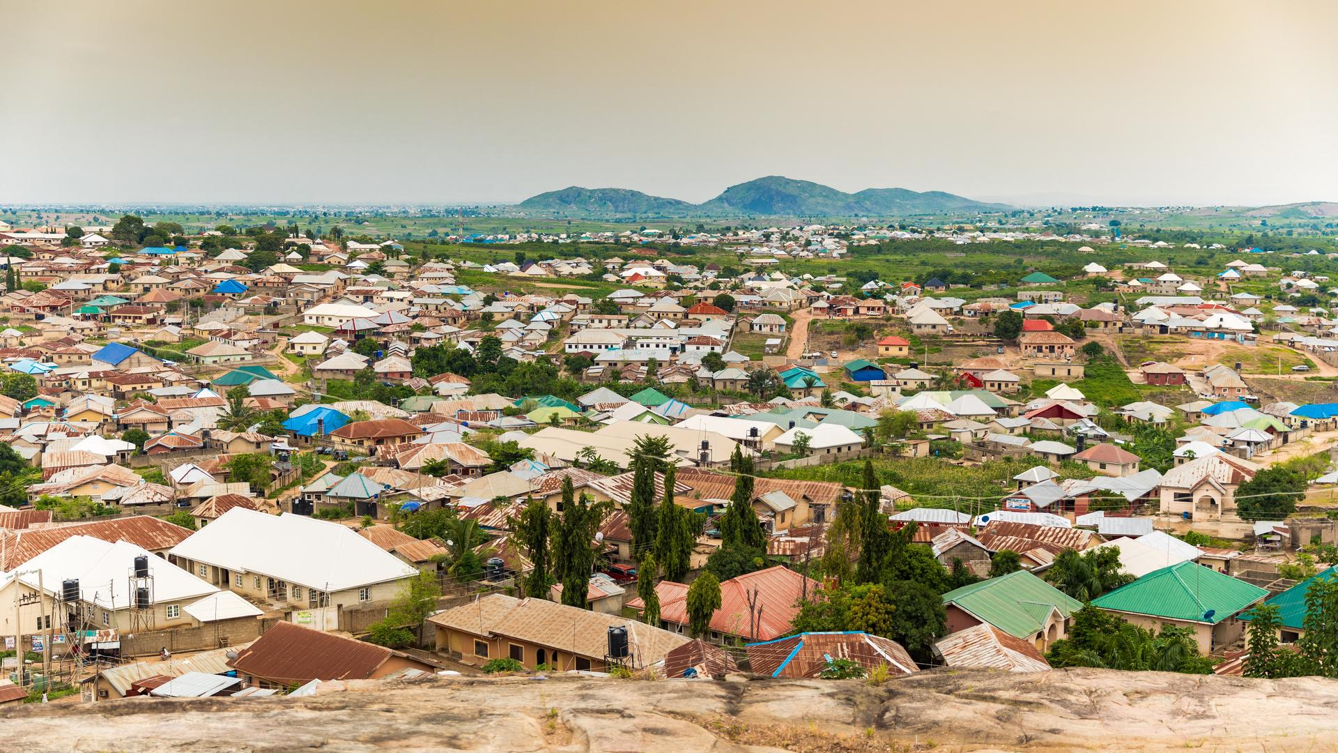 A view in Nigeria