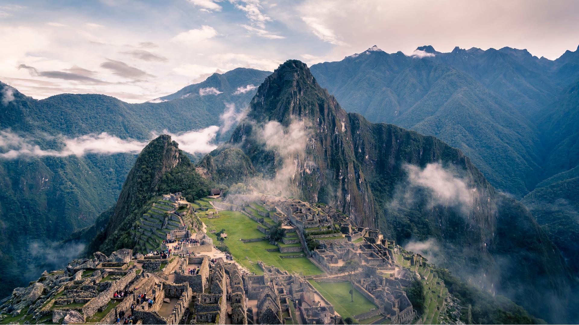 A view in Peru