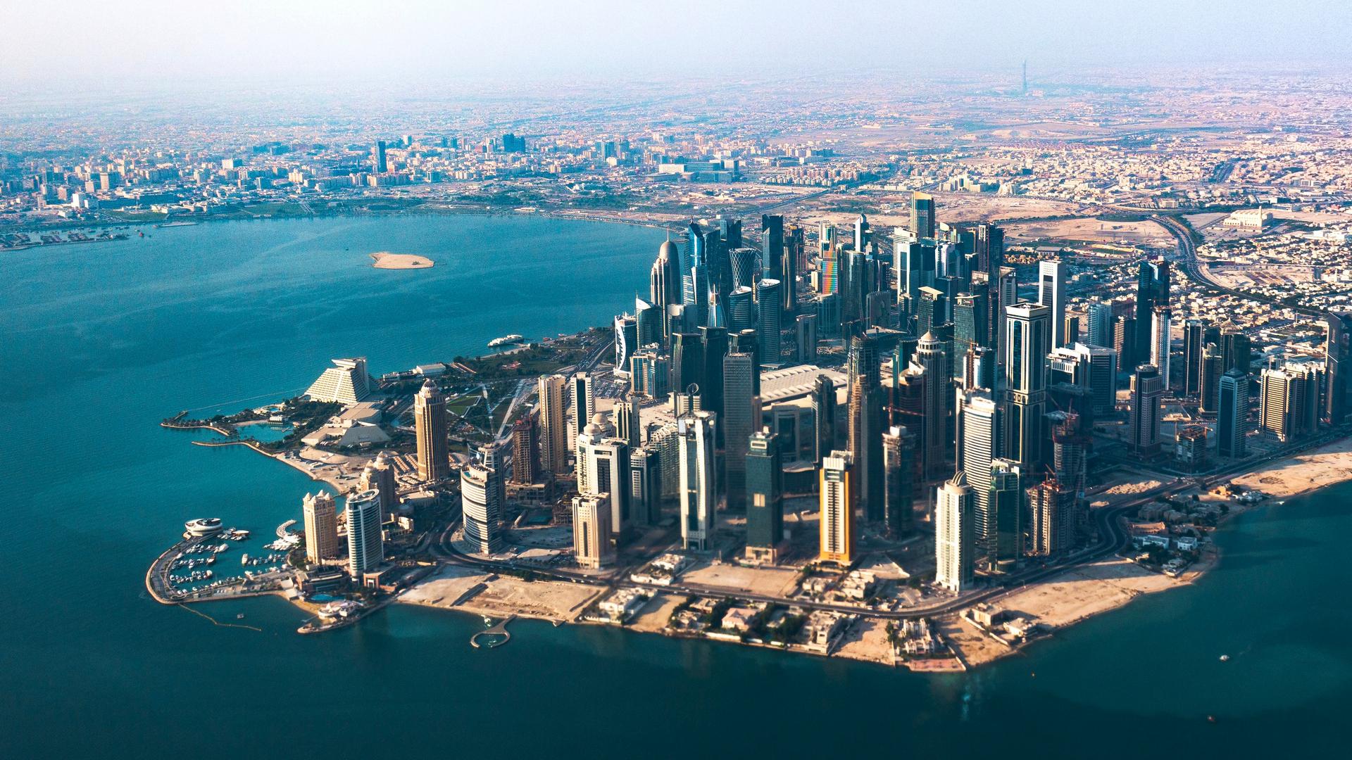 A view in Qatar