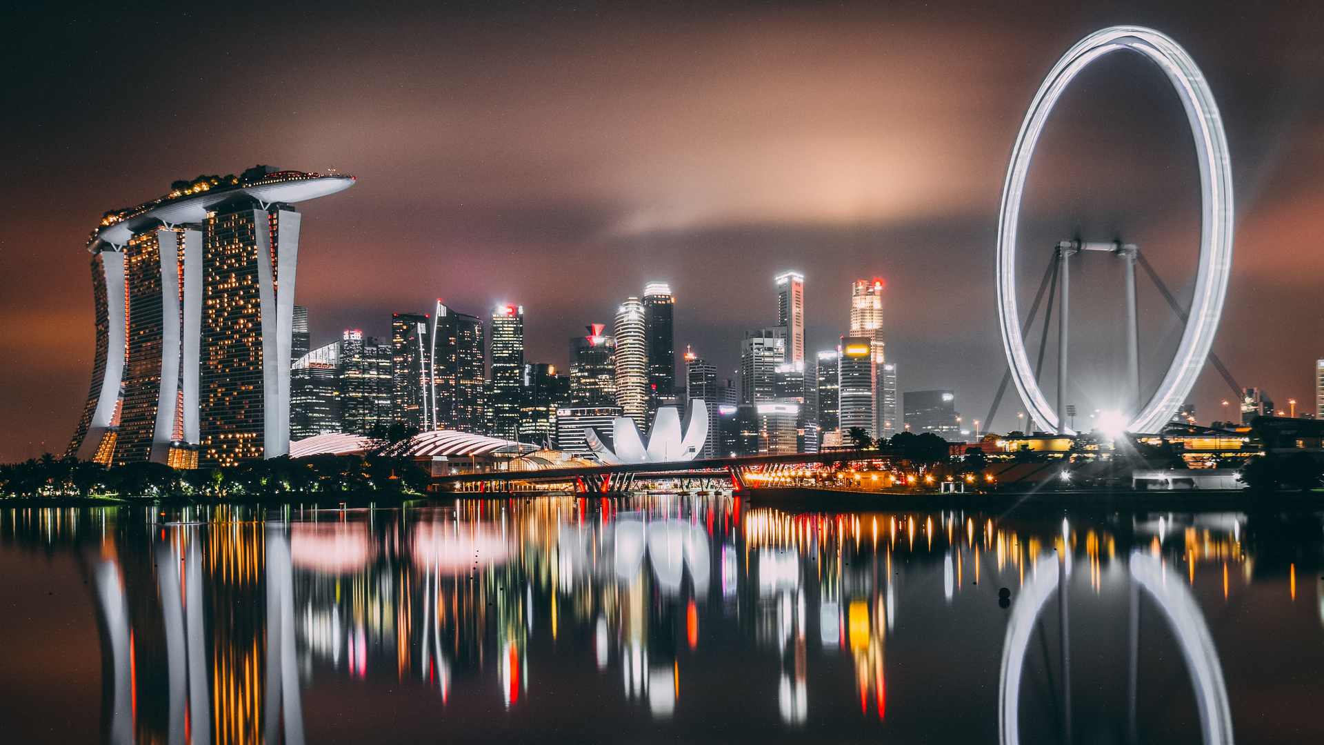 A view in Singapore