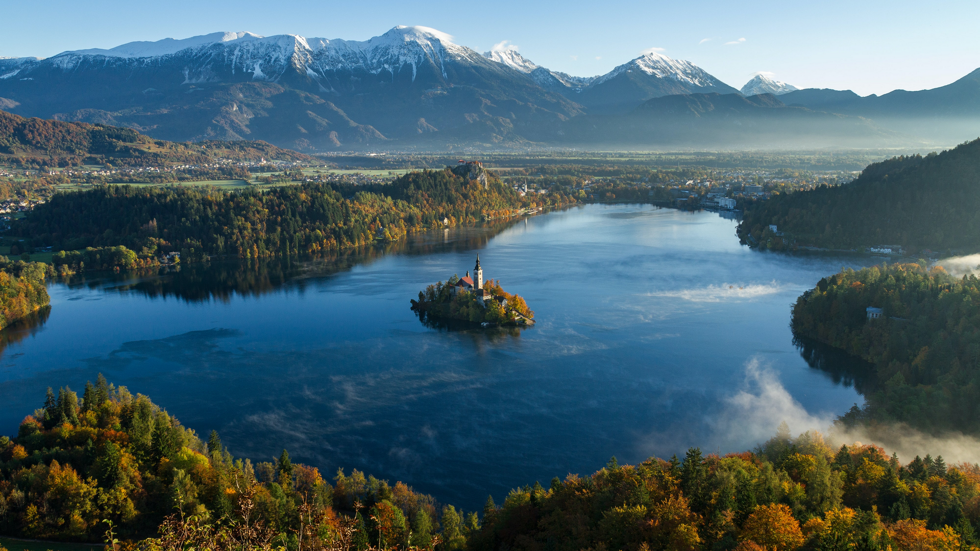 A view in Slovenia