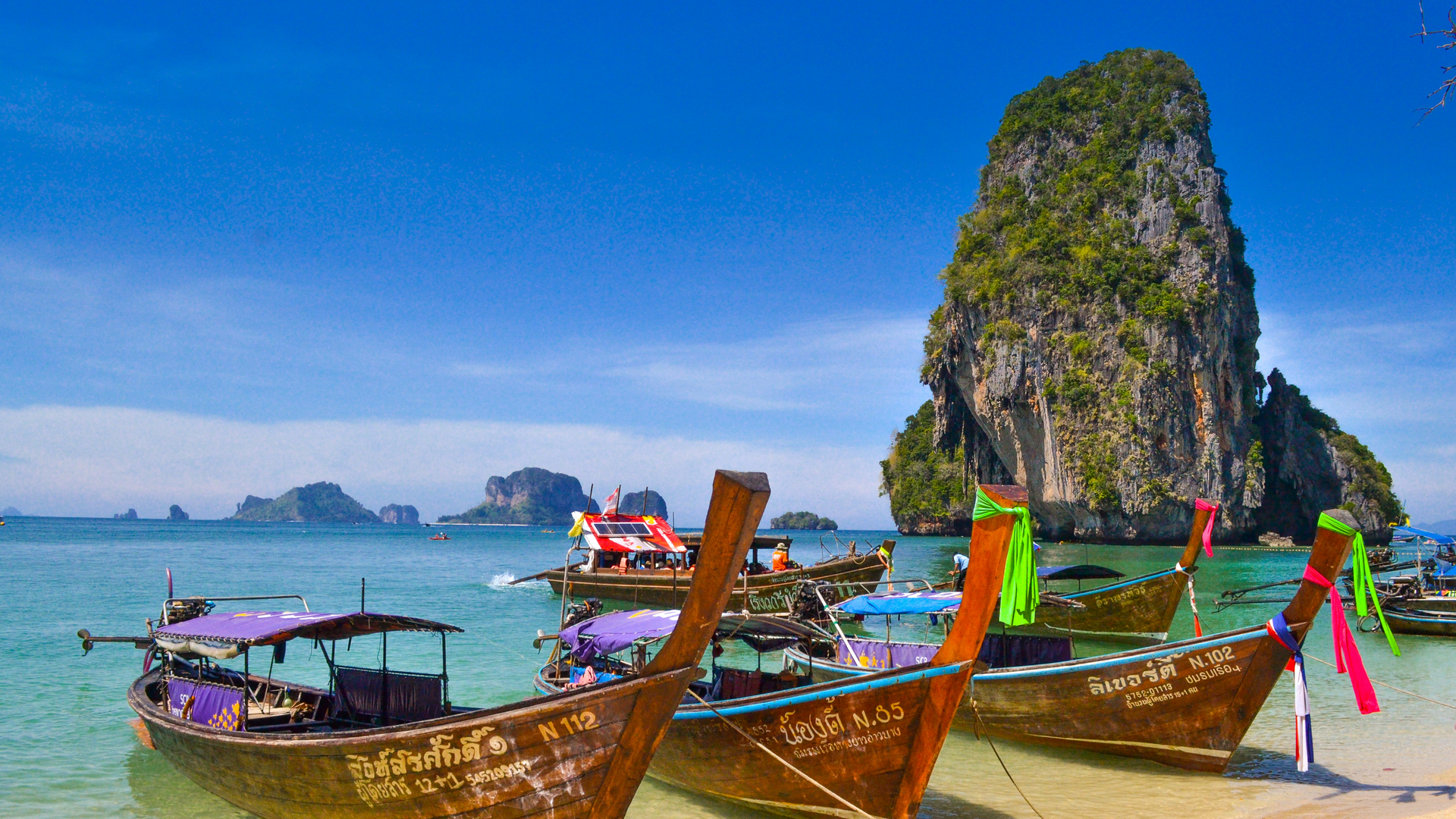 A view in Thailand