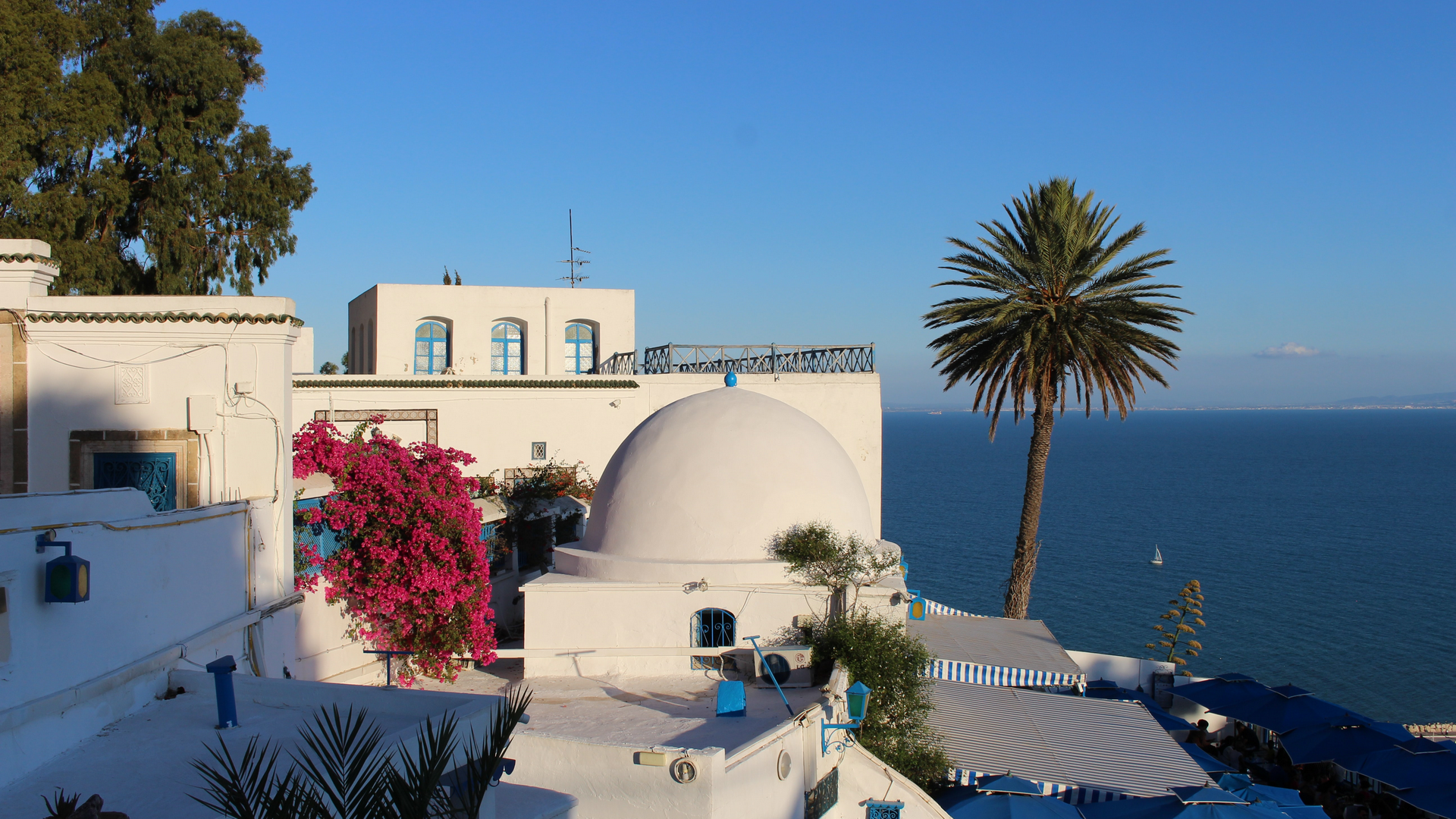 A view in Tunisia