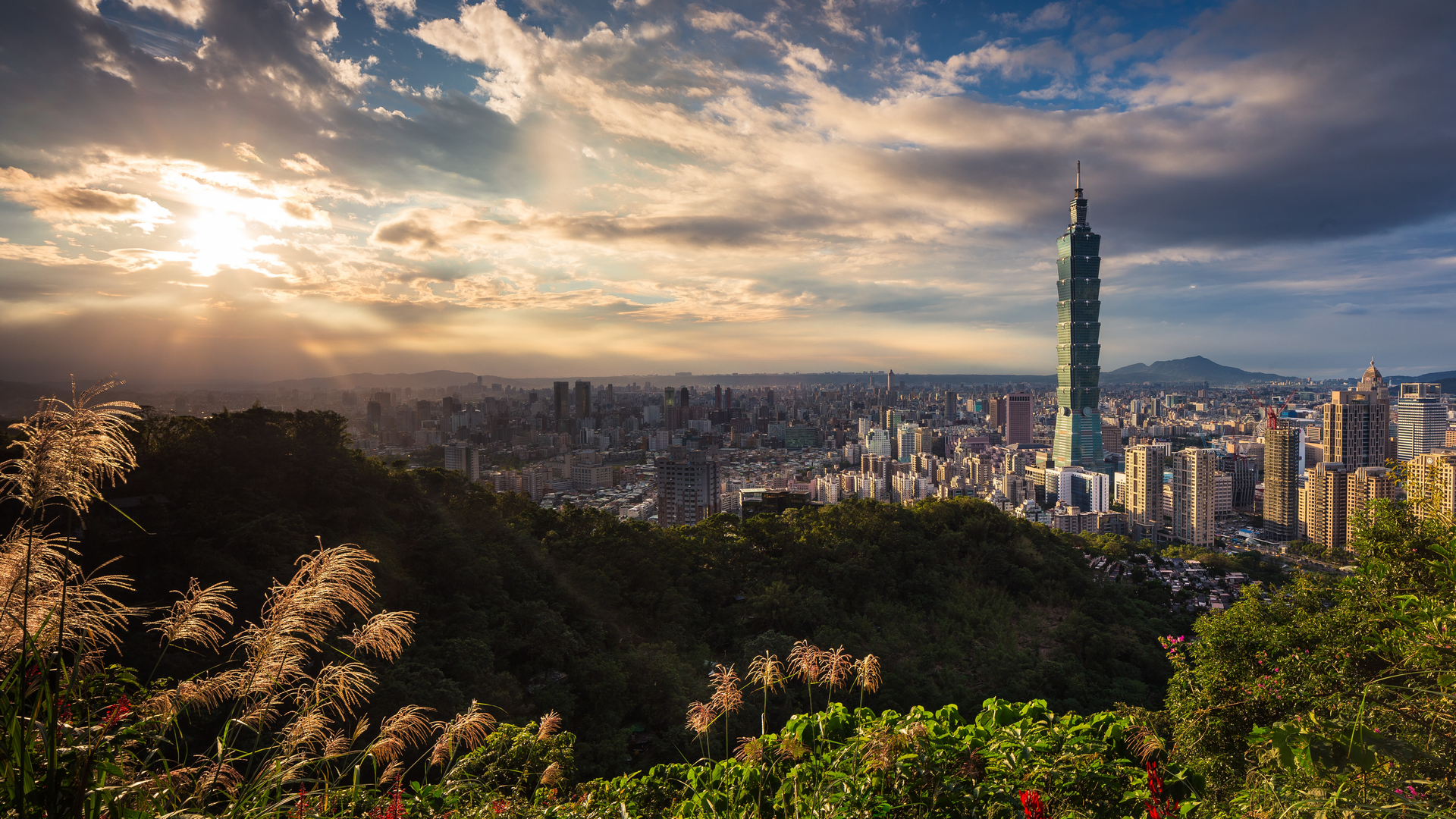 A view in Taiwan