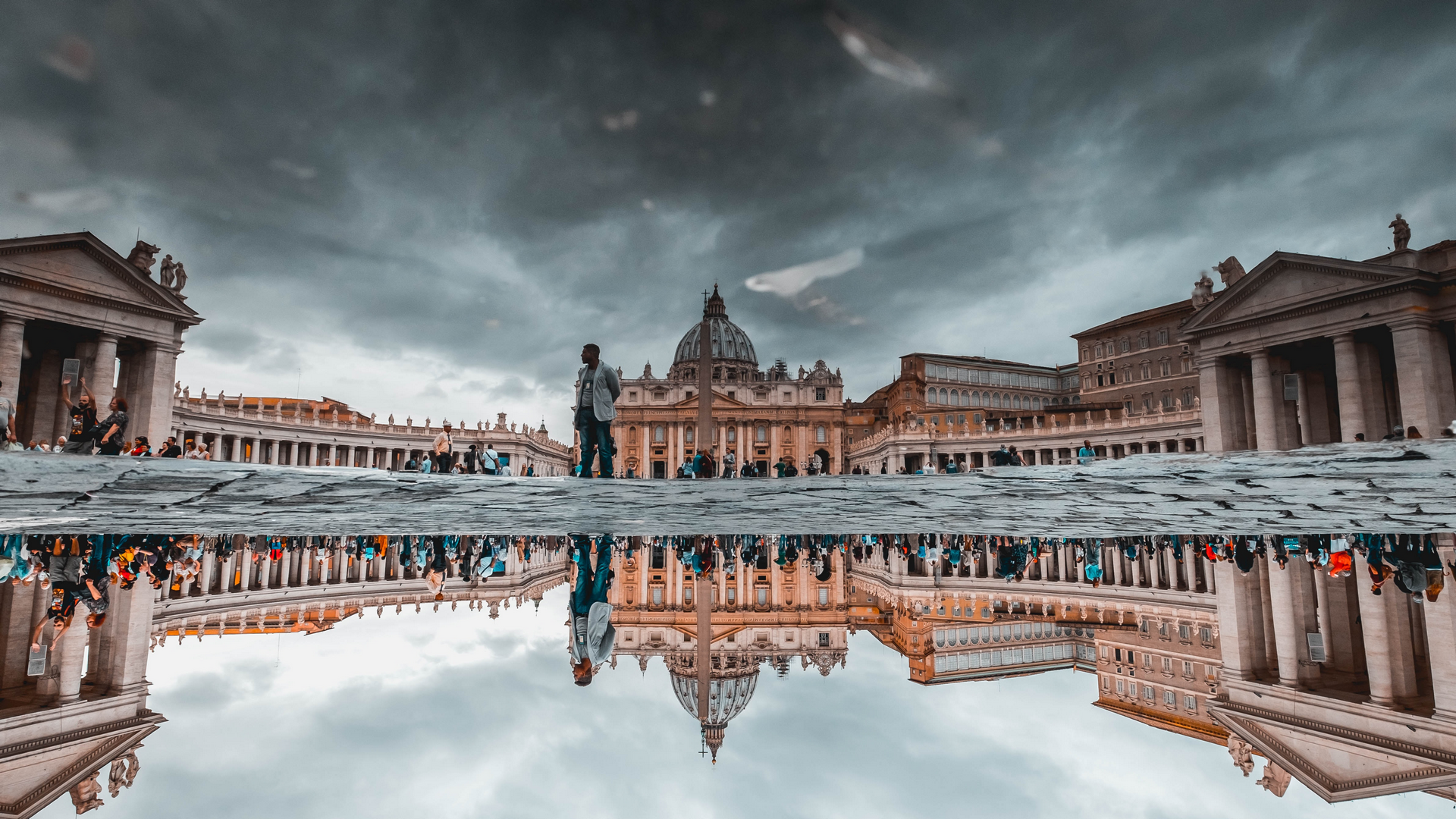 A view in The Vatican