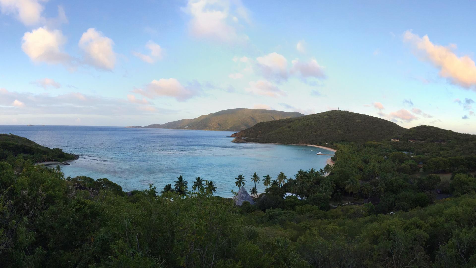 A view in Virgin Islands (British)