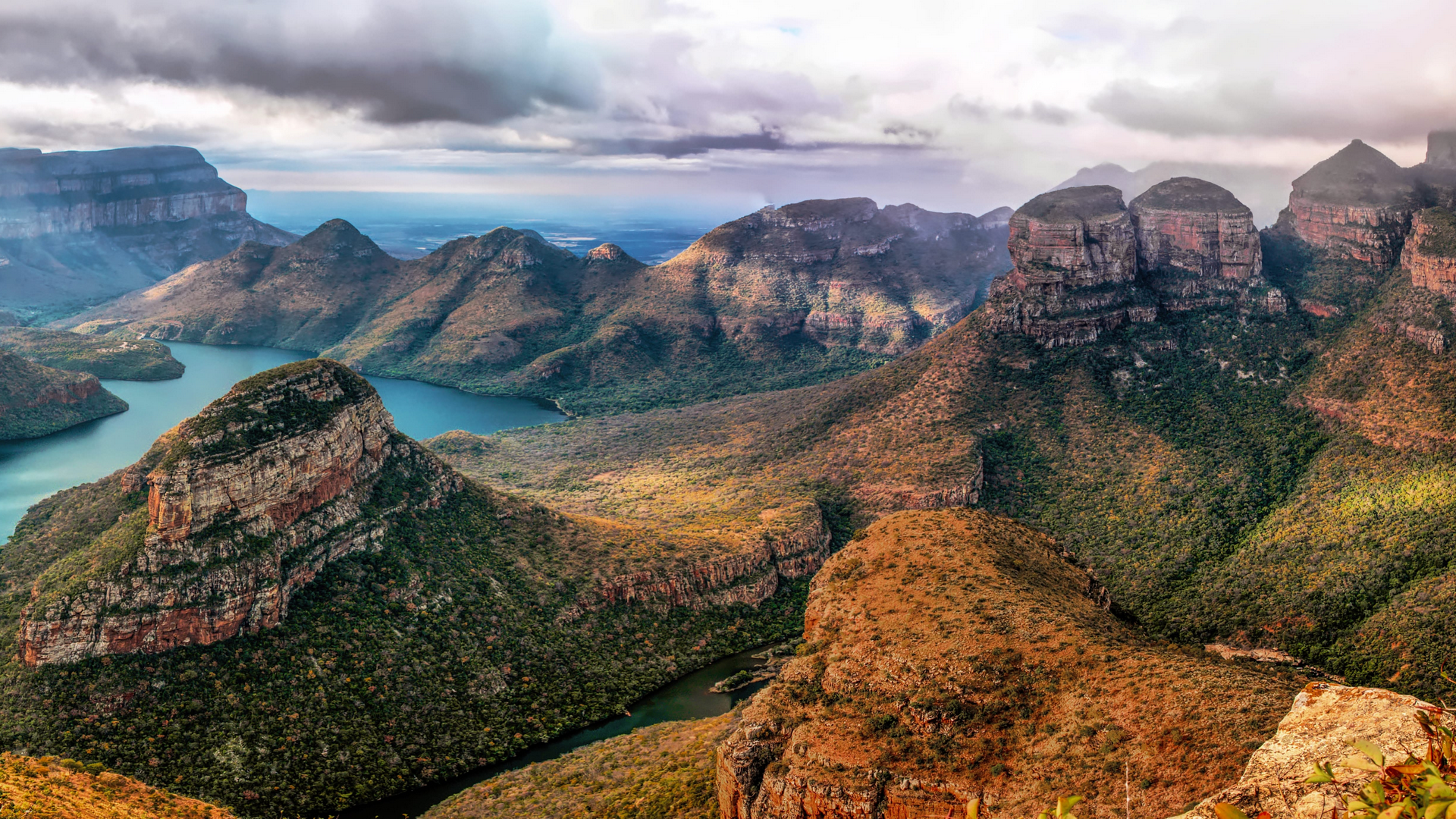 A view in South Africa